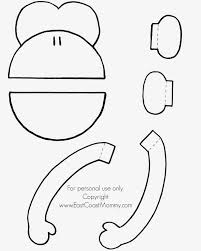 Monkey Paper Plate Craft - paper plate mask arrowskidsclub clip library