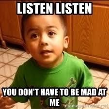 Listen To Me Meme - listen linda meme generator