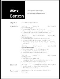 Libreoffice Resume Template Chronological Resume Templates Chronological Resume Format