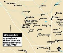 Fresno City College Map Fresno County Fossils Could Be Declared State Dinosaur The