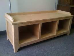 awesome entry bench with storage plans u2013 portraitsofamachine info