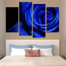 online get cheap blue rose canvas aliexpress com alibaba group