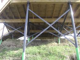Setting Pole Barn Posts Sonotubes Or Bury The 6x6 In Concrete Decks U0026 Fencing