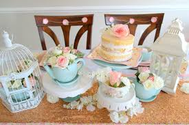 tea party bridal shower ideas diy vintage tea party bridal shower