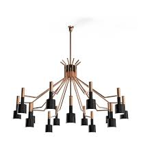 trending product an iconic round chandelier with a mid century design