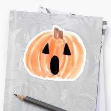 halloween jack o lantern watercolor pumpkin happy halloween