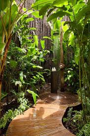 tropical bathroom ideas tropical bathroom ideas with ceiling bamboo accessories