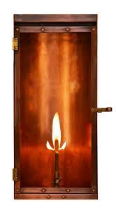 outdoor gas lantern wall light lu 18 22 gas coppersmith luna 18 gas lantern lu 18 22the coppersmith