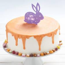 rabbit birthday personalised rabbit birthday cake topper by owl otter
