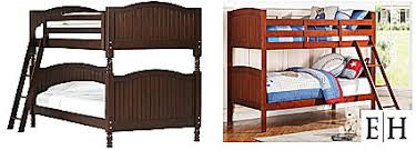 Pottery Barn Camp Bunk Bed Knockout Knockoffs Pottery Barn Kids Boy U0027s Catalina Bunk Bedroom