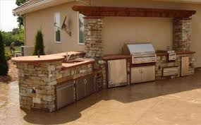 Home Depot Pergola Kit by Rustic Patio Kitchen Kitchen Pictures