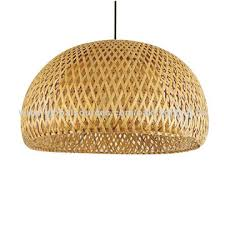 Bamboo Ceiling Light Modern Pendant Light Bamboo Pendant L 30cm 47 Cm E27 Holder
