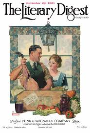 1921 11 26 the literary digest norman rockwell cover thanksgiving
