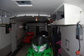 V Nose Enclosed Trailer Cabinets by Enclosed Snowmobile Trailer Cabinets Google Search Enclosed
