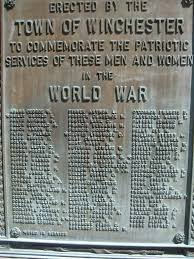 Menards Address Plaques by New Hampshire Wwi Military Heroes Of Winchester Cow Hampshire