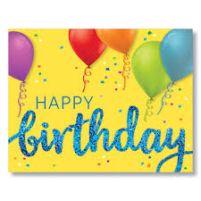 try our py birthday and balloons corporate birthday cards for