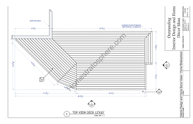 wall blueprints 2 level deck plan blueprint free pdf download