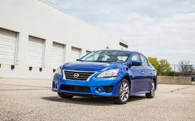 nissan sentra blue 2013 nissan sentra sr editors u0027 notebook automobile magazine
