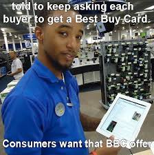 Credit Card Meme - when asked for a best buy credit card by recyclebin meme center