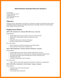 resume objective examples for administrative positions eliolera com