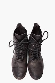 ksubi womens boots ksubi lace boot in black for lyst