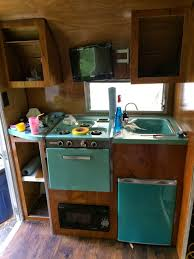 63 fireball restoration 1963 fireball camper restoration fridge