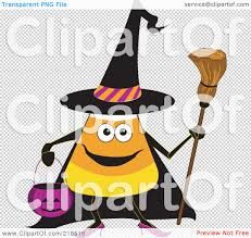 halloween clip art transparent background royalty free rf clipart illustration of a halloween candy corn