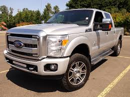 Ford Diesel Truck Used - used 2013 ford f350 crew cab diesel platinum for sale in eugene