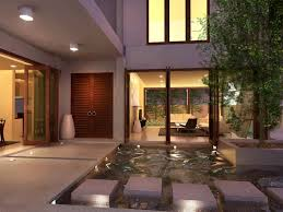 courtyard home exterior green home courtyard design ideas green trees in the