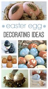 11 easter egg decorating ideas town u0026 country living