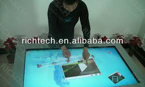 Interactive Meeting Table Richtech 46 Multitouch Interactive Table Touch Screen