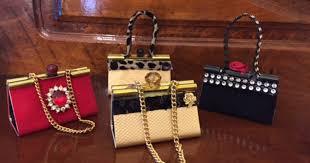 binder clip purse ornaments