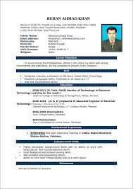 comprehensive resume format resume format for word starua xyz