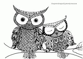 Free Owl Adult Coloring Pages To Print Many Interesting Cliparts Owl Color Pages