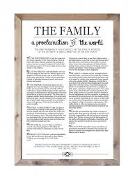 family proclamation family proclamation the woods barn