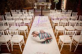 aisle runners for weddings wedding aisle runners south africa blackheath western cape