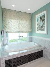 photos hgtv teal master bathroom with soak tub incredible small