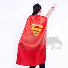 43 inches party superman capes u2013 single layer with ties