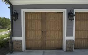 real wood carriage house garage doors buford voyles overhead door