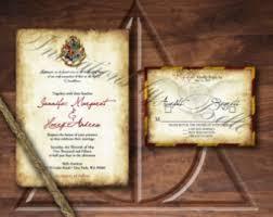 harry potter wedding invitations best collection of harry potter wedding invitations for you