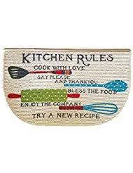 amazon com red kitchen rugs kitchen u0026 table linens home