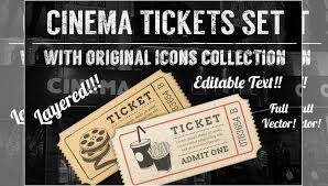 9 movie ticket templates free word eps psd formats download