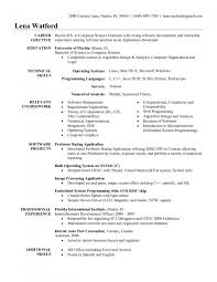 Sample Resume With Gaps In Employment Objective For Software Engineer Resume Samples Of Resumes