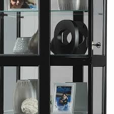 Curio Cabinets Shelves Curio Cabinets Contemporary Curio Cabinets Six Glass Shelf