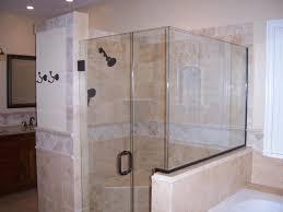 modren single shower doors in inspiration decorating