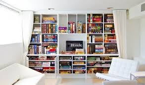 Board Game Storage Cabinet 10 Game Rooms That Play Nice U2014 Apartment Therapy Game Room