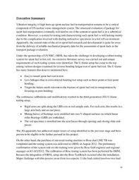 progress letter report on bending fatigue test system development
