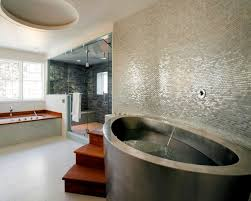 neat bathroom ideas simple and neat steel vessel tub idea of cozy durable including