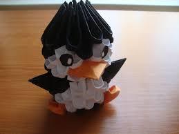 cara membuat origami hello kitty 3d 3d origami penguin tutorial youtube