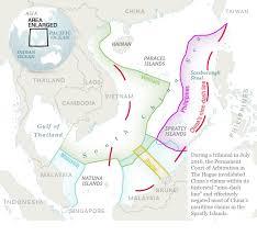 South China Sea Map The South China Sea Dispute Is Decimating Fish Stocks